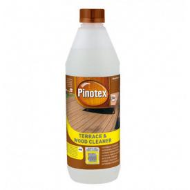 Pinotex Terrace & Wood Cleaner 1л Миючий засіб для дерев'яних поверхонь