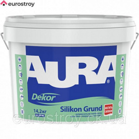 Грунтовка Aura Dekor Silikon Grunt 10 л