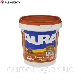 Средство защиты для дерева Aura Lasur Aqua орех 9 л