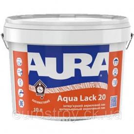 Лак акриловый Aura Aqua Lack 20 полуматовый 1,0 л