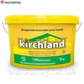 Штукатурка силиконовая Кирхланд StoneSil барашек зерно 1,5 мм 25 кг