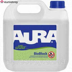 Грунт протигрибковий Аura Unigrund BioBlock 5 л
