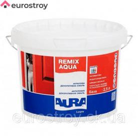 Эмаль акриловая Aura Luxpro Remix Aqua 30 полуматовая 0,75 л