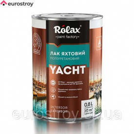 Лак полиуретановый яхтный глянцевый 0,75 кг Eskaro