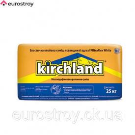 Клей для плитки білий Кірхланд Ультрафлекс 25 кг