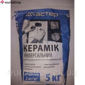 Клей для плитки Мастер Керамик универсальный 5 кг