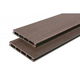 Террасная доска композитная Polymer Wood Lite 19x138x2200 (3000) шовная