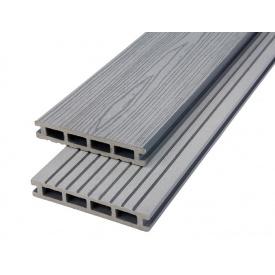 Террасная доска композитная Polymer Wood Premium 25x150x2200 шовная