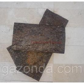 Плитка лицювальна сланець 1х5х15 см чорна