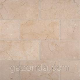 Мармурова плитка Crema Marfil вищий сорт 1,3х30,5х61 см світло-бежева