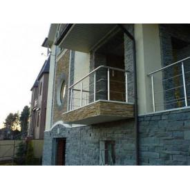 Виготовлення огорож для балконів з нержавіючої сталі