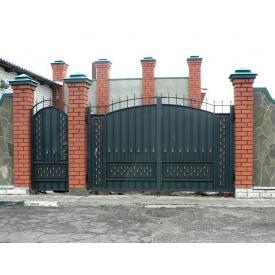 Изготовление входных ворот из металла