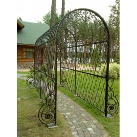 Виготовлення садового пергола з металу