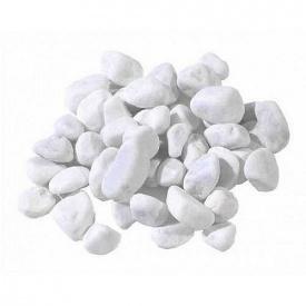 Мраморная галька Тасос 10-20 мм белая