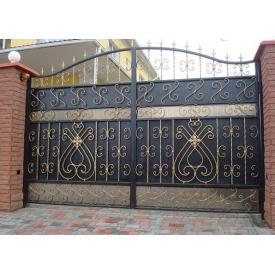 Изготовление металлических входных ворот