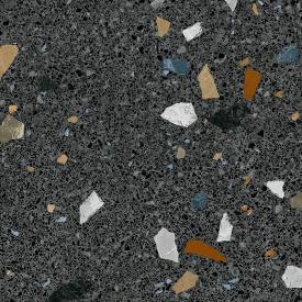 Плитка керамогранит Arcana Stracciatella-R Grafito 80х80 см (ЦБ000004561)