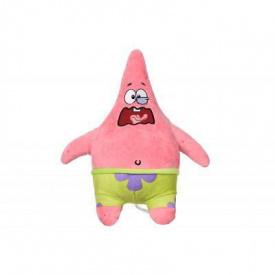 Мягкая игрушка Sponge Bob Exsqueeze Me Plush Patrick Burp со звуком (EU690903)