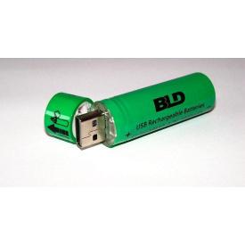 Акумулятор 18650 Li-ion 4.2v USB18650 3800mah c USB зарядкою