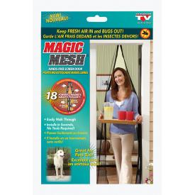 Антимоскітна сітка штора на магнітах Magic Mesh