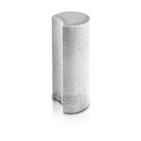 Живопліт півмісяць ТД Моноліт-Брук 110x300 мм сірий (278-1048-1)
