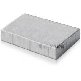 Плитка тротуарна Прямокутник ТД Моноліт-Брук 60 мм сірий (417-1036-1)