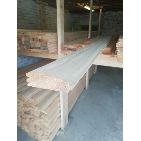 Блок хаус 1 сорт 125х35х 3 м сосна