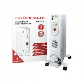 Масляный обогреватель Grunhelm GR-0715 1500 Вт