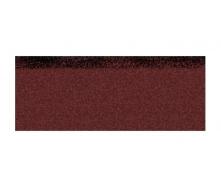 Гребенево-карнизна плитка Aquaizol 250х1000 мм червоний мікс
