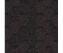 Бітумна черепиця Aquaizol Мозаїка 320х1000 мм коричневий еко