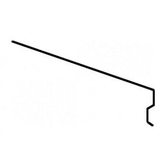 Планка Aquaizol КП-2 карнизная 0,5 мм 2 м красный