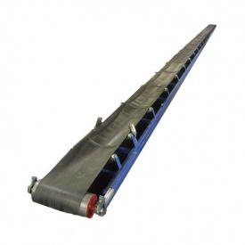 Конвеєр стрічковий жолобчастий з шевроном 20 метрів