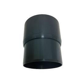 Муфта труби Альта-Профіль Еліт 95 мм графітовий