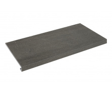 Ступенька прямая Zeus Ceramica Calcare black 60x34,5x3,5x0,92 см (SZRXCL9ВRR)