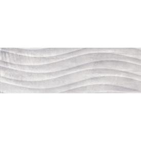 Плитка Ceramika Konskie Tivoli Grey Relief глянцевая стеновая 25х75 см (PCT1017172G1)