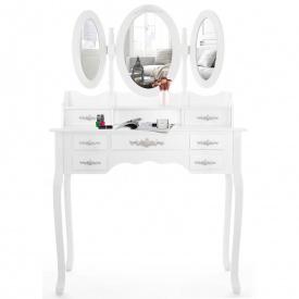 Туалетный гримерный столик с зеркалом KESSER (KE-ST-GR)