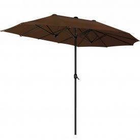 Зонт садовый Kesser, 3 метра, Коричневый (KE-455)