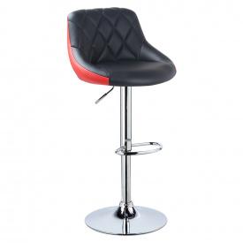 Барный стул Berlin BS187 Черный с красным