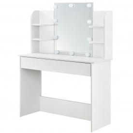 """Туалетный гримерный столик с зеркалом и светодиодной подсветкой """"Bella"""""""