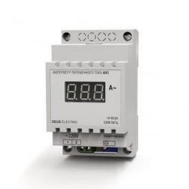 Амперметр змінного струму цифровий DEUS Electro з внутрішнім транс струму АМ 1 220 В 100 А