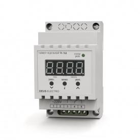 Таймер недельный цифровой на DIN-рейку DEUS Electro ТН-16 Д 16 А 220 В