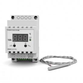 Терморегулятор для высоких температур цифровой на DIN-рейку DEUS Electro ТР-500 10 А 220 В