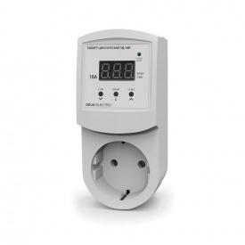 Таймер недельный цифровой в розетку DEUS Electro ТН-16 Р 16 А 220 В