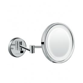 Logis Зеркало косметическое с LED подсветкой хром HANSGROHE 73560000