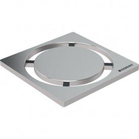 Дизайнерская решетка Geberit Circle для трапов для душевых систем 8x8 см 154.311.00.1