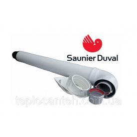 Комплект для горизонтального прохода через стену 1000 мм з точкой отбора, 60/100 мм Saunier Duval