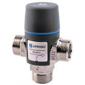 """Afriso ATM333 Rp 3/4"""" 35-60С kvs 1,6 термостатический смесительный клапан 1233310"""