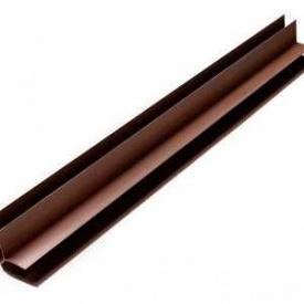 Угол ПВХ внутренний Riko коричневый PL 07