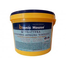 Декоративная штукатурка Каминьцева 2,5 мм смесь для обработки минеральных фасадов