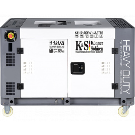 Электрогенератор Konner&Sohnen Heavy Duty KS 13-2DEW 1/3 ATSR