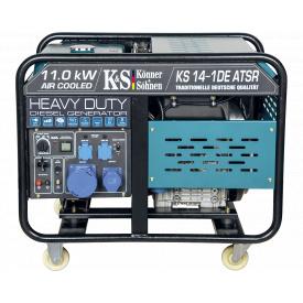 Электрогенератор Konner&Sohnen Heavy Duty KS 14-1DE ATSR